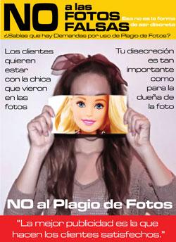 No a las Fotos Falsas